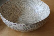 papier mache / manualidades con papel mache