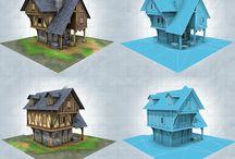 3D Huizen