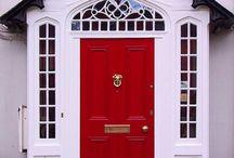 Decorating with Red / Decorating with red.  Red home decor.