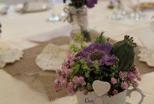 nunta vintage - cescute si vase