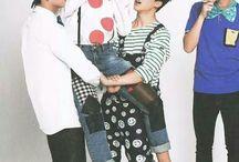 BTS Maknae Line / TAE~KOOK~CHIM Taehyung y Jimin del 95 Jungkook del 97