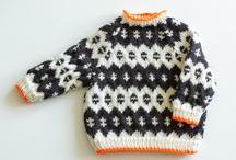 Babysweatere og veste / Strik