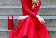 Red Monochromatic Style