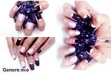 Genere Nail / Nail art, ногтевой арт от Genere mio