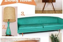 Mid-Century Mod / by Stephanie Ching