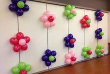 Déco fleurs de ballons