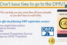 DMV Registration Services Las Vegas / If you are fed up of standing in a long queue for DMV registration for your auto then contact GC Trusted Agents and get DMV registration done online.