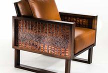 Crocodile Leather Furniture Designs