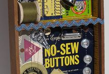 Vintage sewing notions