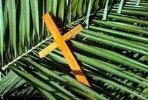 Easter Blessings / Alleluia!  He is risen!  He is risen indeed! / by Donna Grant