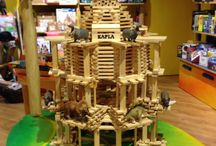Kapla works / Le nostre creazioni con i mattoncini Kapla! Out creations with Kapla bricks!