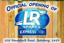 LR Express / LR Spares Express Stores - Coming soon to a place near you!
