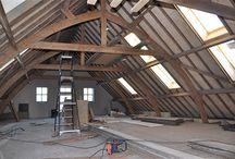 boerderij (Renovatie) constructie / (Dak-)constructie historische boerderij en renovatie