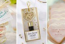 Weselne prezenty dla gości / Podziękowania dla gości na przyjęciu weselnym