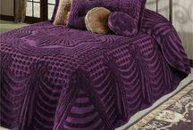 Jewel-Toned Home Decor / Give your home a sumptuous, luxe look with jewel-toned bedding and home decor. These colorful home accents feature rich gem tones like amethyst purple, topaz, and ruby.
