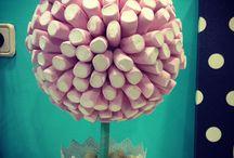 Candy Tree / Nuestros árboles de chuches!!