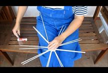 pletení z papíru - návody