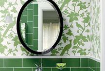 Bathrooms: Bold Colours