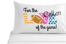 Personalized pillow cases / Personalized pillow cases, great for birthday gift!