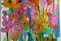 Zeichnen Frühling