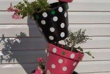 Terra cotta pot crafts