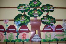 Osztályterem dekorációk
