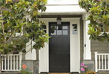 Fabulous Front Doors / The front door says so much about a home and the people that live there.