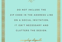 Pearls of Wisdom / Wise bits of info from designers!