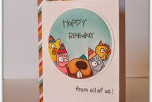 cartões aniversario