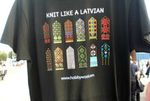 Latvian ethnographic designs - modern use