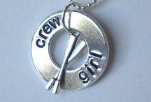 Aviron bijoux - Rowing jewelry / l'aviron inspire les créateurs de bijoux et produisent de bien belle pièces