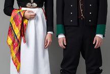 Norwegian Wedding Traditional Attire