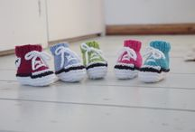 Fiona Goble Knitting Patterns / King Cole Tinsel yarn creatures - my patterns are available on Etsy, Ravelry and Ebay UK.