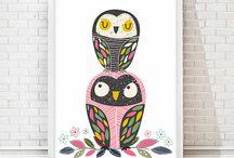 Nursery - Kids animals illustrations