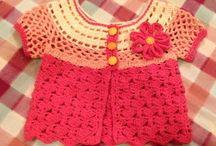 crochet sweaters / tunics / cardigans etc. / sweterki, tuniki, kardigany szydełkowe itp / by Anna Hodura-Jokiel