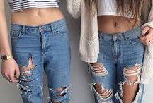 Pantalon troué ♥