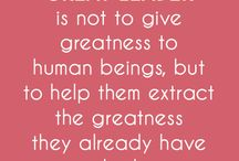 Quotes / Quotes about education, teachers, poverty, disaster relief, and philanthropy.