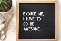 Quotes- Letterboard
