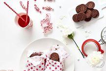 Red & White baking