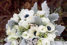 white&green wedding