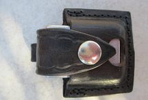 Leather pouch for Zippo Lighter