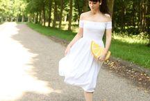 Style Gamine / Robes de style GAMINE pour les mariées fraiches, espiègles, mutines, joueuses, avec un côté lolita.