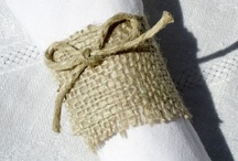 Burlap galore / by Jessica Day
