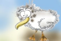 Sonny the Seagull and his tales of adventure!