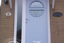 Solidor Pisa Timber Composite Doors / Selection of images featuring the Solidor Pisa Timber Composite Door installed by ourselves part of the Italia Collection