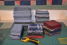 recycle jeans----quilt