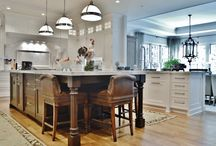 Aldie, Virginia Home / Beautiful custom cabinetry kitchen designed by Southern Kitchens.