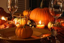 Autum Holiday Ideas / Halloween and Thanksgiving decorating / by Brandee Jenks
