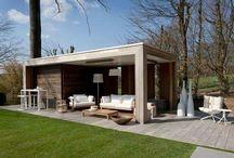 Pool house - shelter - pergola