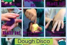 Doh finger disco